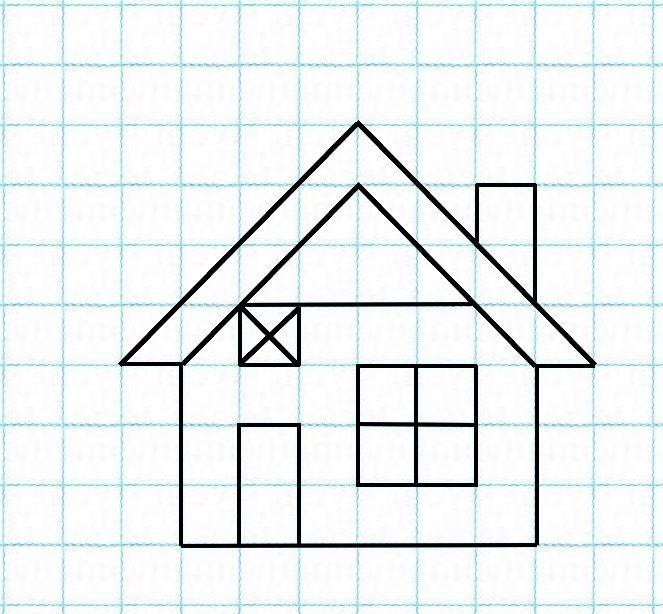 dessin sur feuille petit carreau. Black Bedroom Furniture Sets. Home Design Ideas